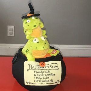 Hallmark's Cauldron w/Trembling Singing Toads